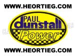 Paul Dunstall Power Tank and Fairing Transfer Decal DDUN13-8
